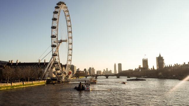 Výlet do Londýna